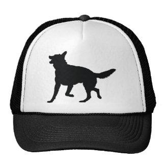 German Shepherd Silhouette Trucker Hat