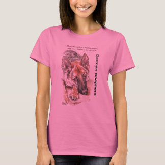"German Shepherd ""Soulful"" T-Shirt"