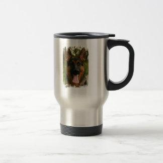 German Shepherd Stainless Steel Travel Mug