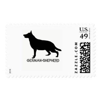 German Shepherd Stamp