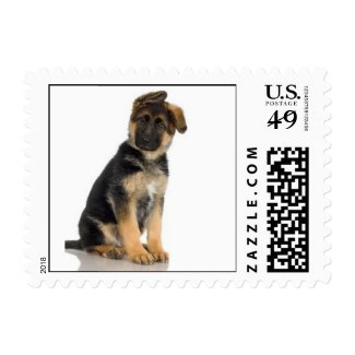 German Shepherd Small Stamp