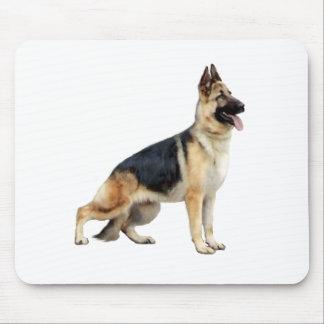 German Shepherd (standing) Mouse Pad