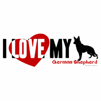 German Shepherd Statuette