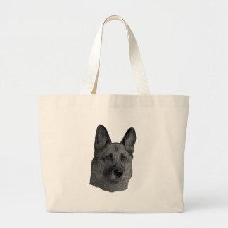 German Shepherd Stylized Image Bag