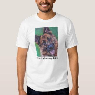 German Shepherd T Shirt