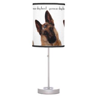 German Shepherd Table Lamp