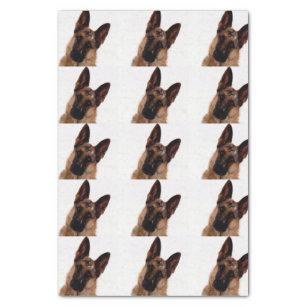 German Shepherd Tissue Paper