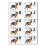 """German Shepherd Tissue Paper 10"""" X 15"""" Tissue Paper"""