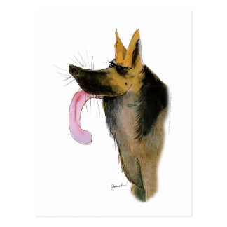 German Shepherd, tony fernandes Postcard