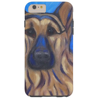 German Shepherd Tough iPhone 6 Plus Case