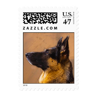 German Shepherd U.S. Postage Stamps