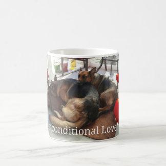 German Shepherd Unconditional Love Mug