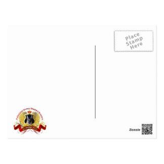 German Shepherd Unconditional Love Postcard