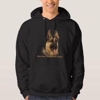 German Shepherd Unisex Hooded Sweatshirt