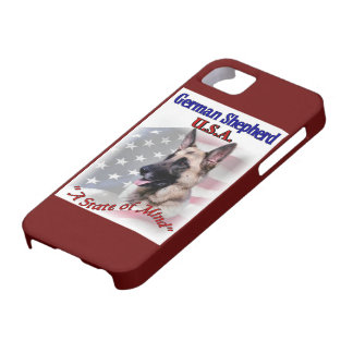 German Shepherd USA iPhone SE/5/5s Case