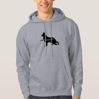 German Shepherd - Use Protection Hoodie