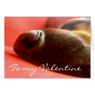 German Shepherd Valentine'sCard
