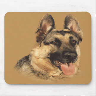 German Shepherd Very Handsome Mousepad