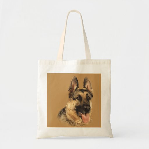 German Shepherd Very Handsome Tote Bag