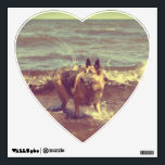 """German Shepherd Wall Decal<br><div class=""""desc"""">One of the most popular breeds in the world and if you have ever had the honor of sharing your life with one, you will know why. They are amazingly smart, trustworthy, and loyal beyond compare! They also just happen to be one of the most beautiful and dignified dog you...</div>"""