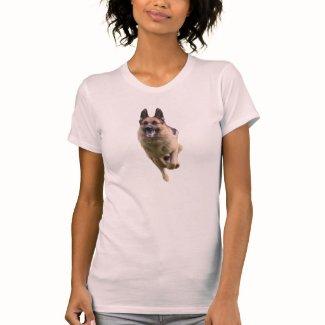 German Shepherd Women's Hanes Nano V-Neck T-Shirt
