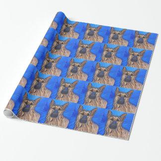 German Shepherd Wrapping Paper