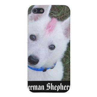 German Shepherds Always Look Tough iPhone SE/5/5s Cover
