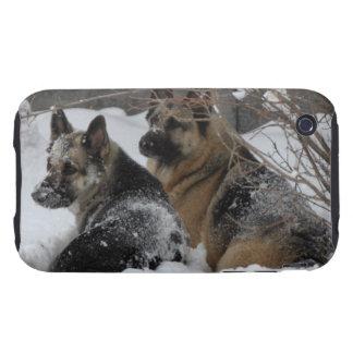 German Shepherds Best Friends iPhone 3 Tough Case