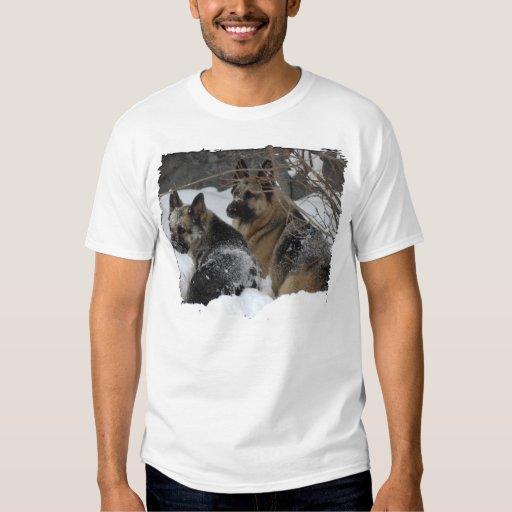 German Shepherds Best Friends T-shirt