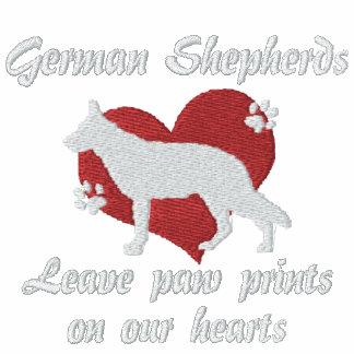 German Shepherds Leave Paw Prints