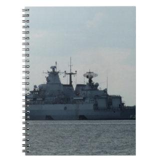 german ship spiral notebooks