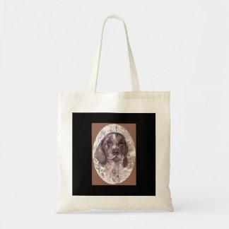 German Short Hair Pointer Sepia Tote Bag
