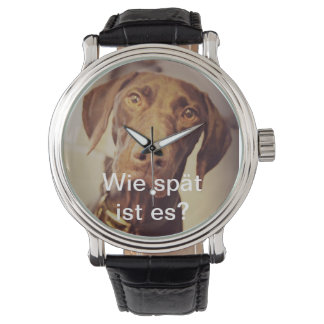 German Short Hair Pointer Watch. Wristwatch