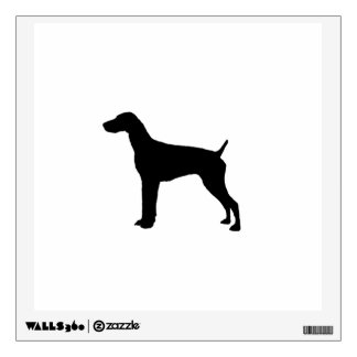 German Short-haired Pointer dog Silhouette Room Decals