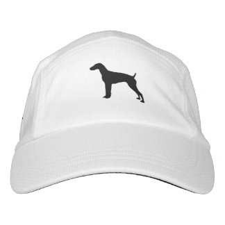 German Short-haired Pointer dog Silhouette Headsweats Hat