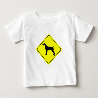 German Short-Haired Pointer Warning Sign Love Dogs Baby T-Shirt