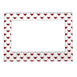 German Short-Haired Pointer Winged Heart Love Dogs Magnetic Picture Frame