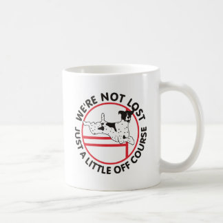 German Shorthair Agility Off Course Coffee Mug