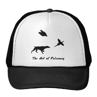 German Shorthair Pointer and Falconry Cap Trucker Hat