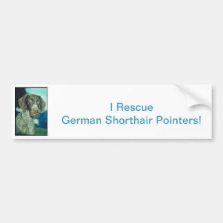 German Shorthair Pointer Bumper Sticker