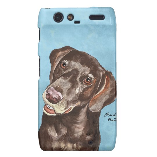 German Shorthair Pointer Motorola Droid RAZR Case