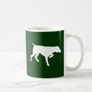 GERMAN SHORTHAIR POINTER CLASSIC WHITE COFFEE MUG