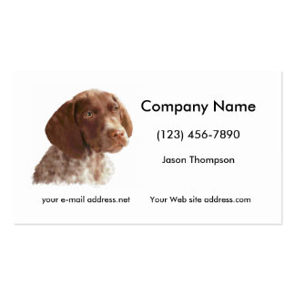 German Shorthair Puppy Double-Sided Standard Business Cards (Pack Of 100)