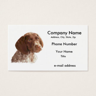 German Shorthair Puppy Business Card