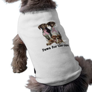 German Shorthaired Breast Cancer Pet Clothing
