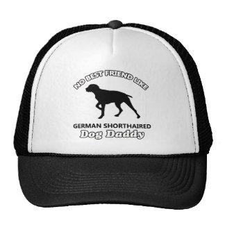 German Shorthaired Dog Daddy Trucker Hats