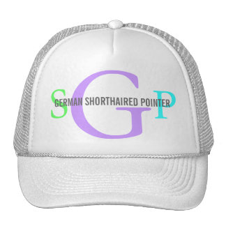 German Shorthaired Point Dog Breed Trucker Hat/Cap Trucker Hat