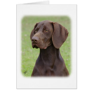 German Shorthaired Pointer AA004D-019 Card