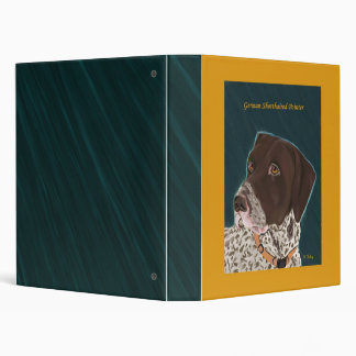 German Shorthaired Pointer Binder