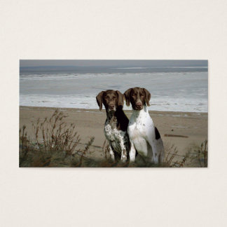 German Shorthaired Pointer Breeder Business Card